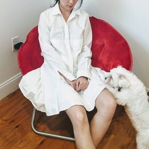 Derek Lam 10 Crosby white dress